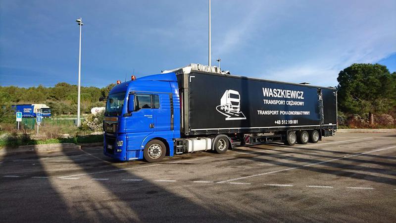 Transport Ciężarowy Edmund Waszkiewicz