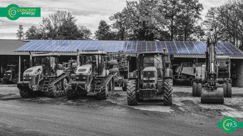 Concept Energy Instalacje fotowoltaiczne dla gospodarstw rolnych