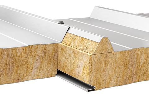 Płyta warstwowa dachowa wełna mineralna Paneltech PWW-D