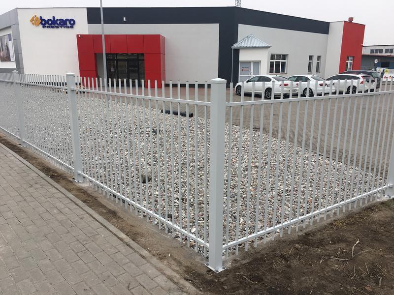 ogrodzenia frontowe panelowe