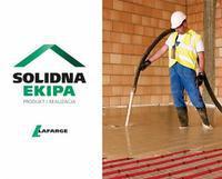 "Logo firmy ""Solidna Ekipa"" Lafarge"