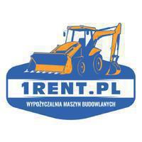 Logo firmy Wynajem maszyn budowlanych - 1Rent