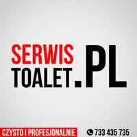 Logo firmy SERWISTOALET.PL WYNAJEM I SERWIS TOALET KABIN WC