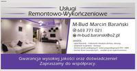 Logo firmy M-Bud  Barański Marcin