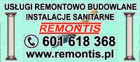 Logo firmy Usługi Remontowo Budowlane, Instalacje Sanitarne Remontis