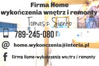 Logo firmy Firma Home-wykonczenia wnętrz i remonty