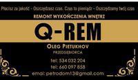Logo firmy Q - REM oleg pietukhov