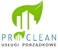 Logo firmy PRO-CLEAN Usługi Porządkowe S.C. Magdalena i Paweł Maciejak