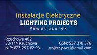 Logo firmy Lighting Projects