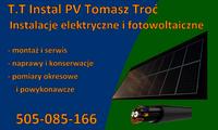 Logo firmy Tomasz Troć TT INSTAL PV