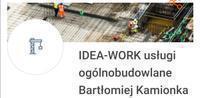Logo firmy Idea-Work usługi ogólnobudowlane