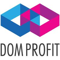 Logo firmy Agencja Nieruchomości DomProfit