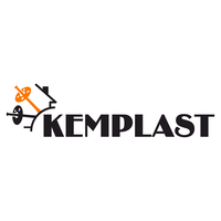 Logo firmy Kemplast - producent kołków do styropianu