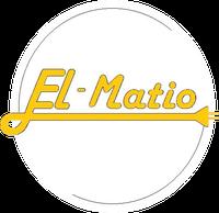 Logo firmy El-Matio instalacje elektryczne Mateusz Walczak