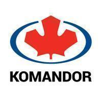 Logo firmy Komandor Warszawa S.A.