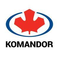 Logo firmy Komandor Wrocław S.A.