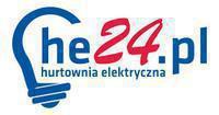 Logo firmy Hurtownia elektryczna he24.pl