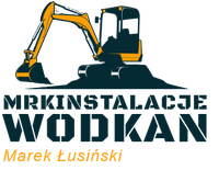 Logo firmy Mrkinstalacje Wodkan Marek Łusiński