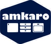 """Logo firmy PRODUKCJA HANDEL USŁUGI """"amkaro"""""""