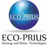 Logo firmy ECO-PRIUS Inżynieria Grzewcza i Klimatyzacyjna