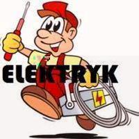 Logo firmy usługi elektryczne