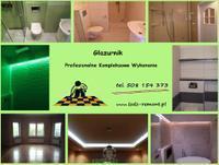 Logo firmy Glazurnik , usługi remontowo-budowlane jacek kołacz