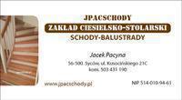 Logo firmy SCHODY Zakład Ciesielsko Stolarski