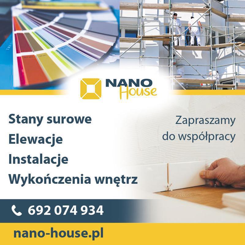 NANO HOUSE Budownictwo- Budowa Domów. Wykończenia W