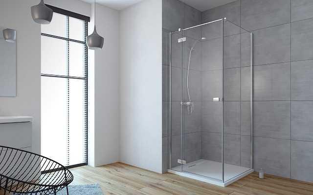Szkło UltraClear w designerskiej łazience