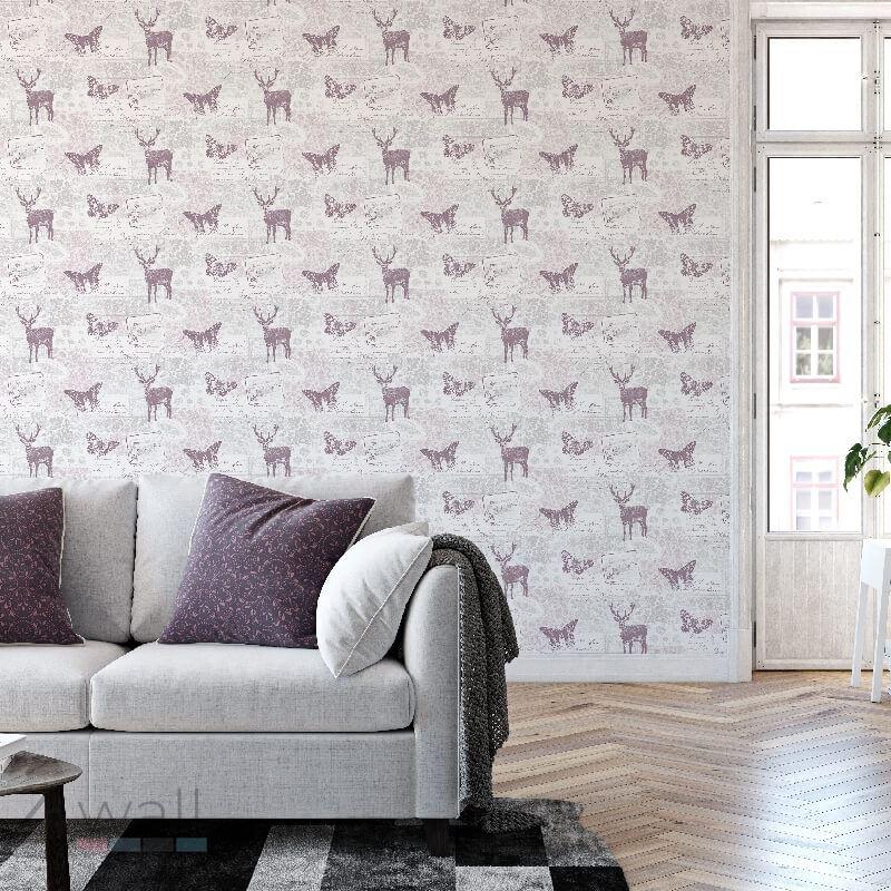 Styl skandynawski w salonie - dekoracje na ścianę