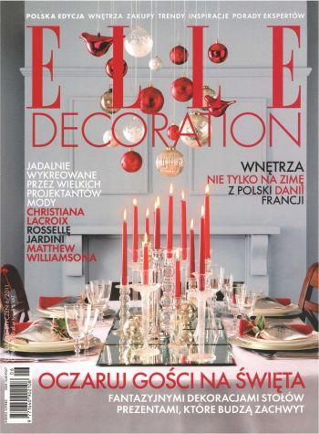 Elle Decoration to magazyn o sztuce designu i wyjątkowych aranżacjach zwyczajnych wnętrz