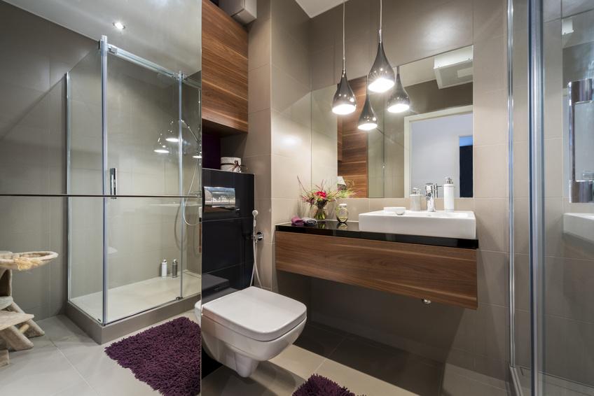 Luksusowa łazienka na niewielkim metrażu
