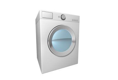 Model pralki na białym tle - grafika a nie zdjęcie - source: FreeDigitalPhotos.net by Salvatore Vuono