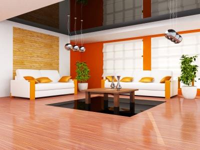 Salon w domu lub mieszkaniu