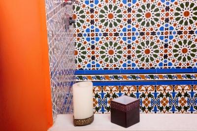 Mozaika, wielość barw i kolorów to najbardziej charakterystyczne wyznaczniki łazienki w stylu marokańskim - source: FreeDigitalPhotos.net By Ambro