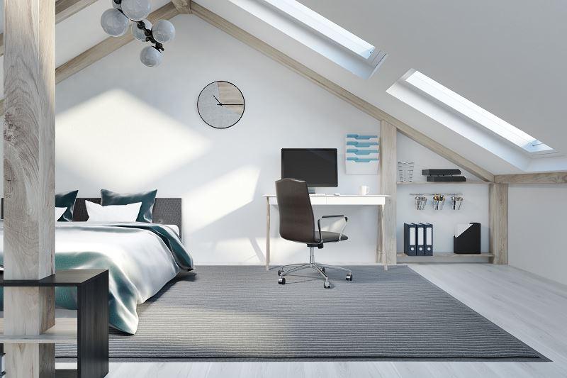 Sypialnia na poddaszu - top 10 pomysłów na projekty i aranżację sypialni 3