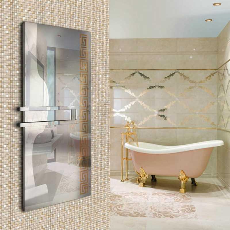 Dekoracyjny grzejnik łazienkowy