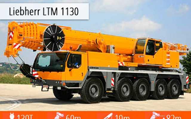 Liebherr LTM 1130- 5.1 - specjalista od trudnych zadań