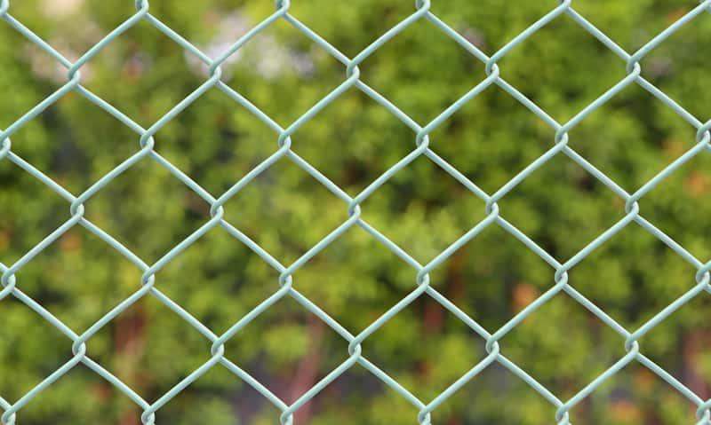 Siatka ogrodzeniowa w ogrodzie i posesji