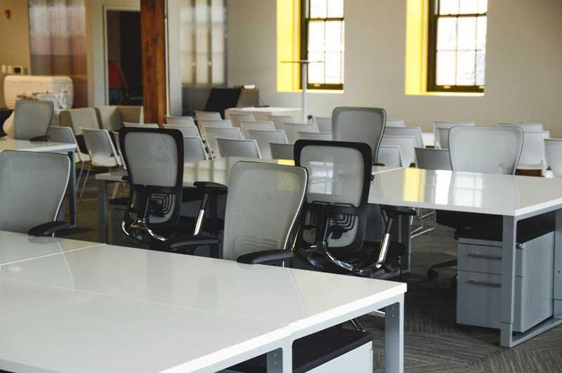 Krzesła w biurze
