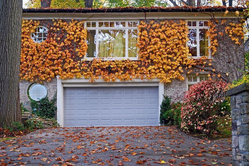 Garaż na jesień