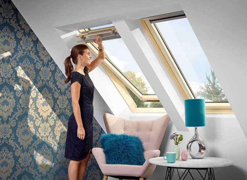 Okna dachowe - górne otwieranie