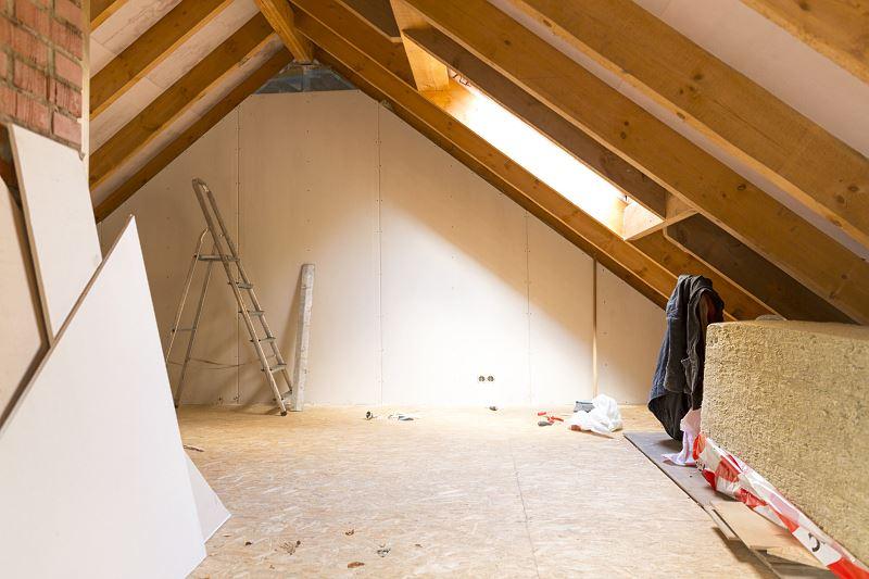 Izolacja dachu nad poddaszem użytkowym