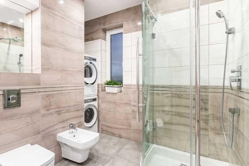 Kabina pryrsznicowa w łazience