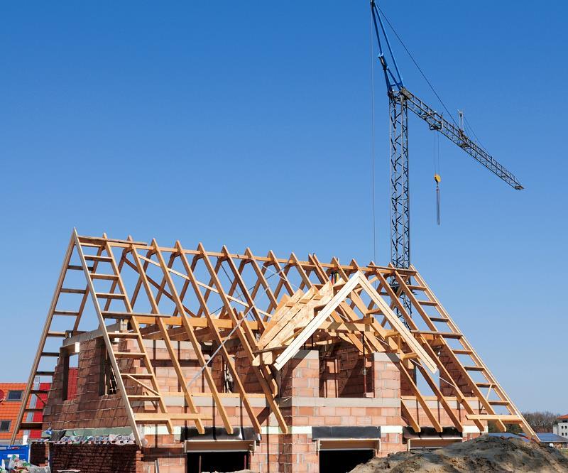 Kalenica, okap, kosz dachowy - czyli więźba dachowa ze wszystkimi szczegółami
