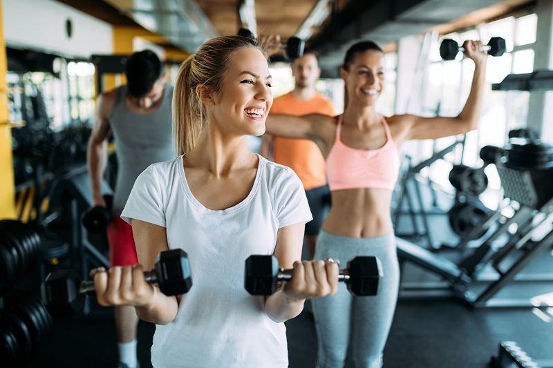 Kompleksowe wyposażenie siłowni
