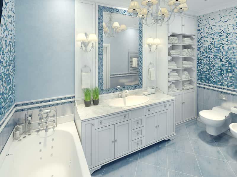 Łazienka w stylu prowansalskim – porady, aranżacje, kolory, pomysły