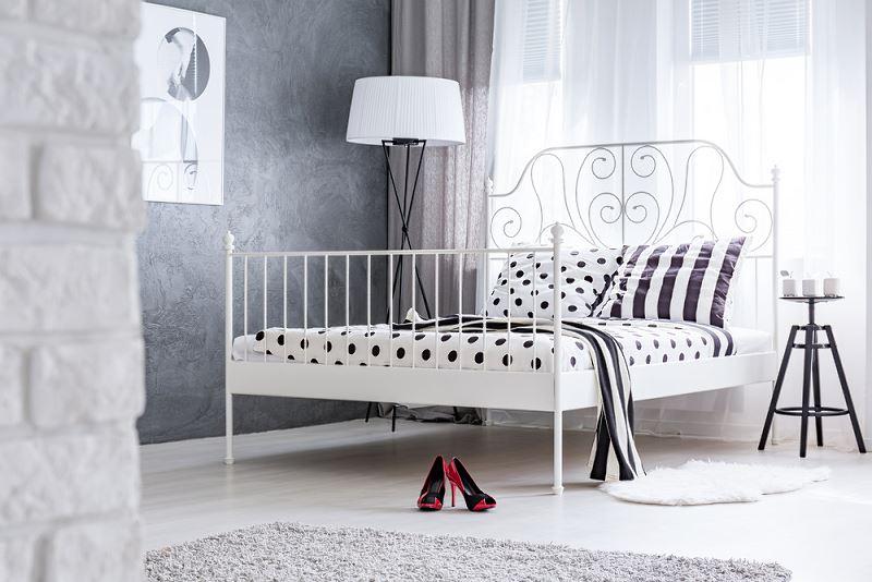 Metalowe łóżka