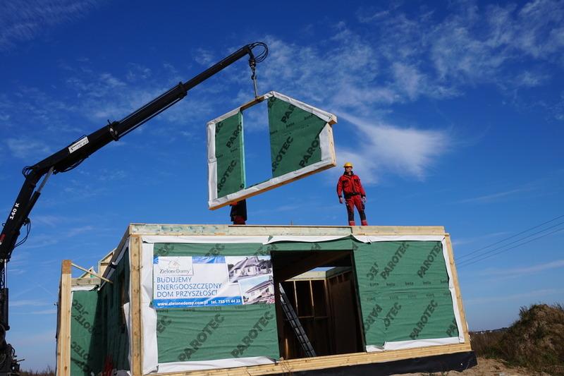 Montaż domów prefabrykowanych