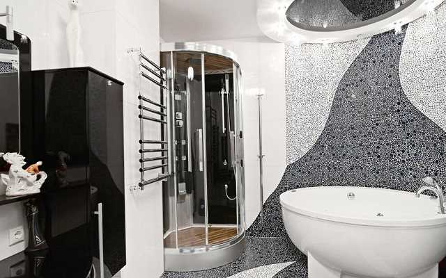 Dobry pomysł na mozaikę w łazience